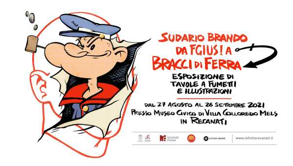 Fino al 26 settembre a Villa Colloredo la mostra del fumettista Sudario Brando
