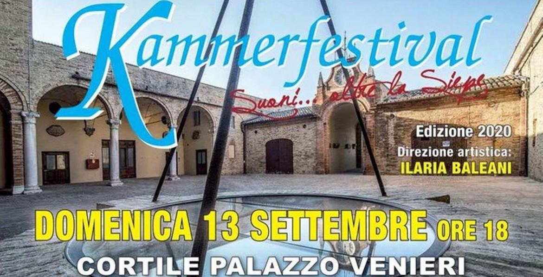 Kammerfestival - domenica 13 settembre, ore 18