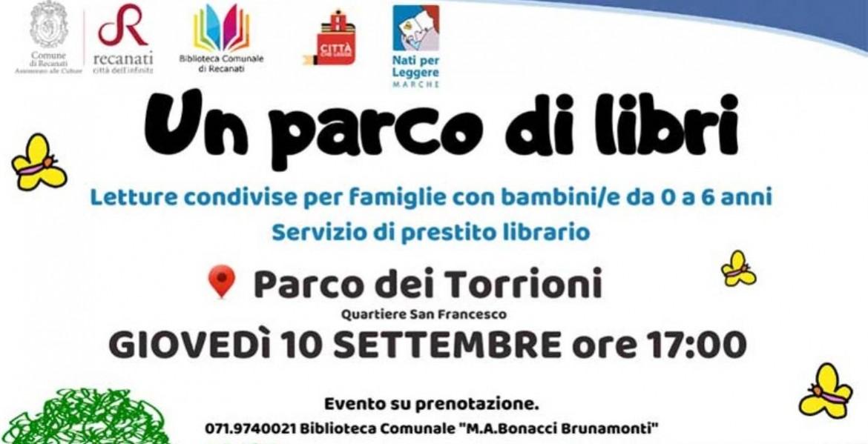 Un parco di libri - 10 settembre ore 17