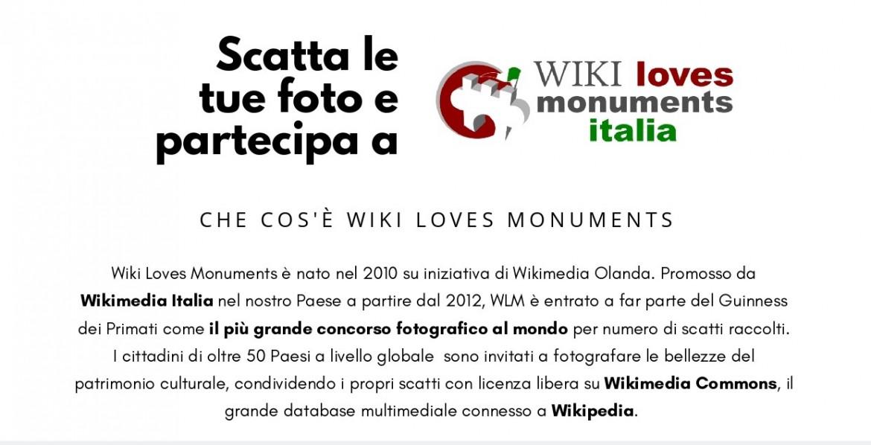 Concorso fotografico Wiki Loves Monuments Italia