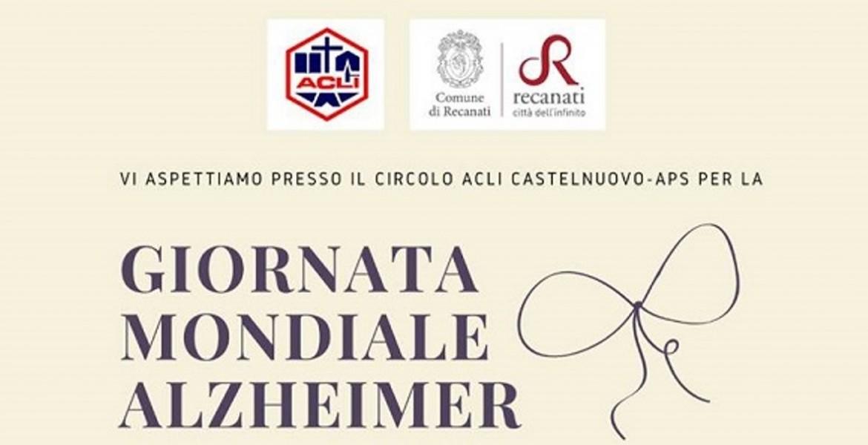 Giornata Mondiale Alzheimer - lunedi 21 settembre